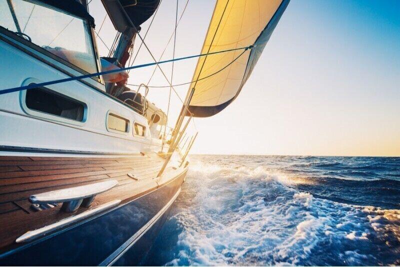 Ознакомительная прогулка на яхте по Куршскому заливу для 2 человек