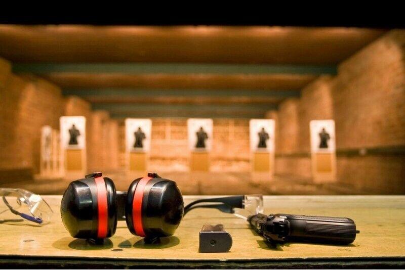 Tulistamine 4 lahingurelvaga Hobikeskuses Klaipėda