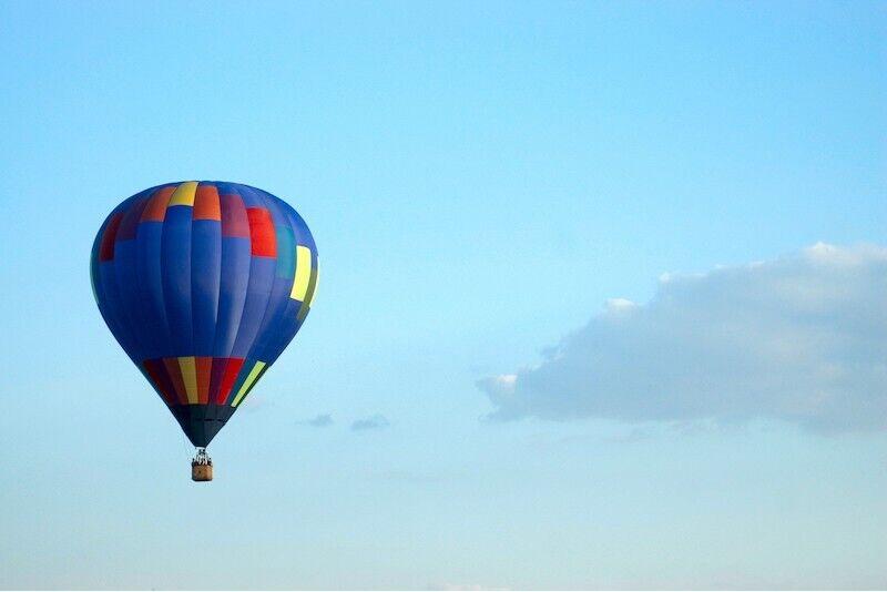 Lend kuumaõhupalliga talvel