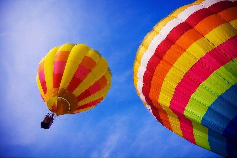 Elamusi täis lend kuumaõhupalliga