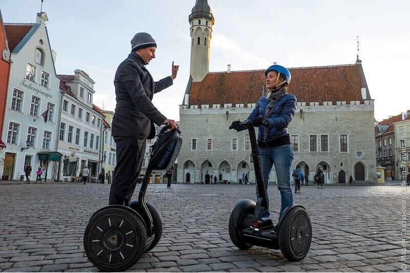 Поездка на Segway в Таллине