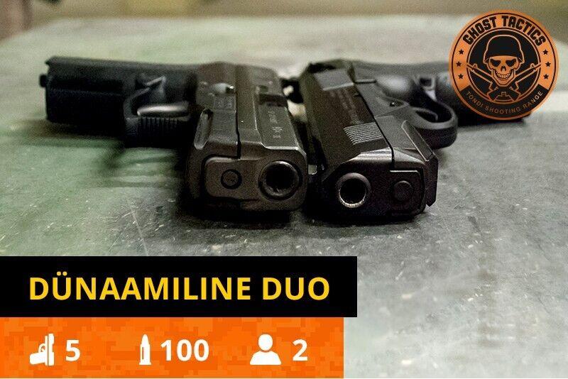 """Комплект стрельбы """"Двойная динамика"""" в Талиине"""