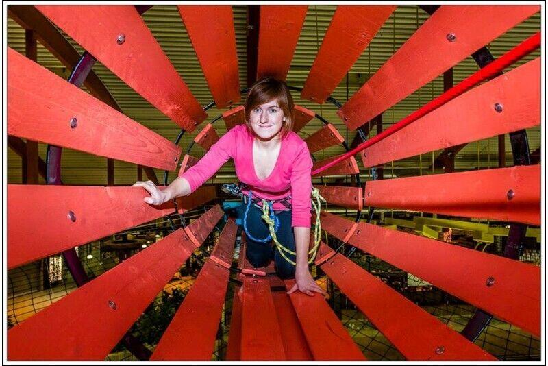 Lõbus seiklus lastele Lõunakeskuse seikluspargis Tartus