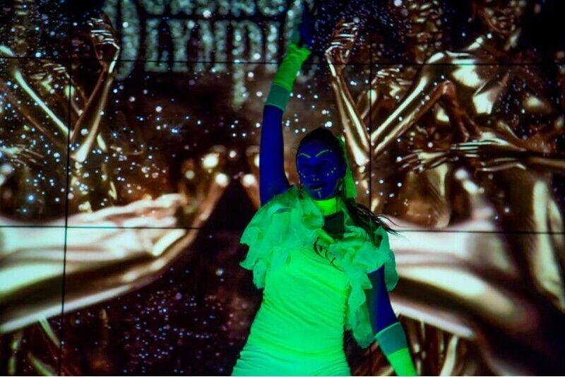 Захватывающий LED и UV шоу от Kelfirius  на Вашем празднике