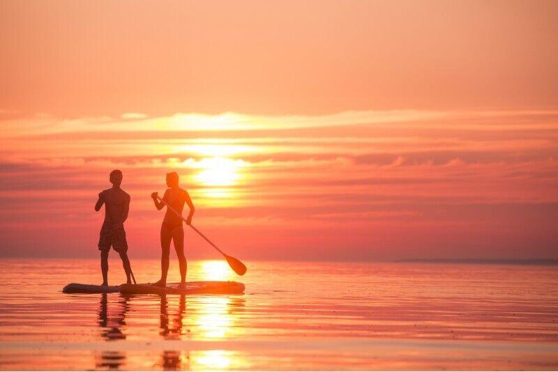 """Обучения на доске SUP в """"Surftown surfschool"""" в Таллине"""