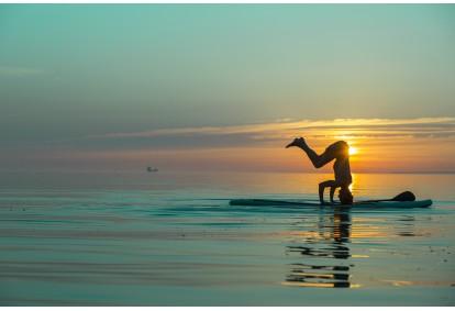 "Йога на SUP доске от ""Surftown surfschool"" в Таллине"