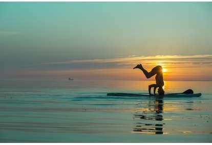 Aerusufi Jooga Surftown surfikoolilt Tallinn