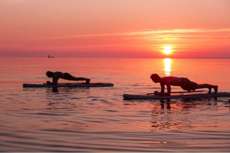 """SUPNESS обучение в """"Surftown surfschool"""" в Таллинне"""