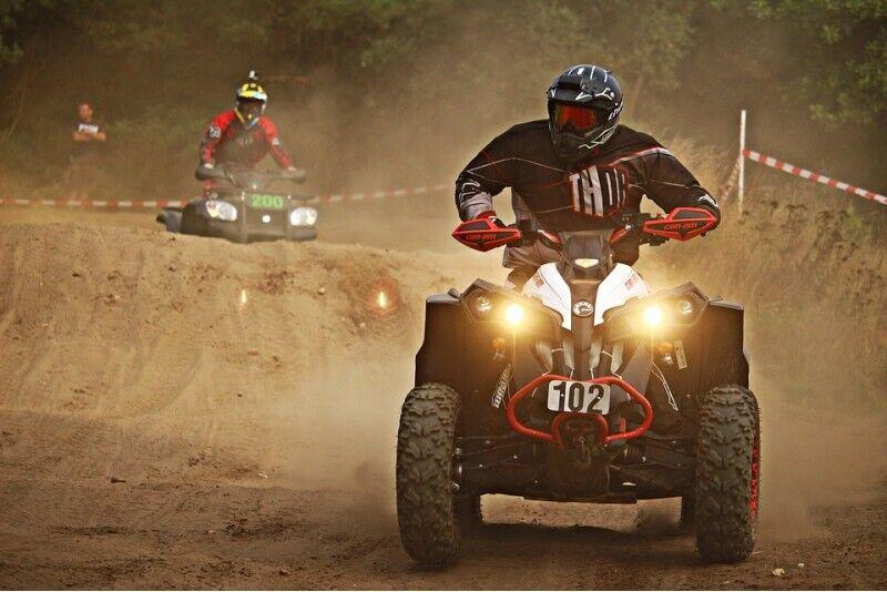 Sõit ATVga Riias