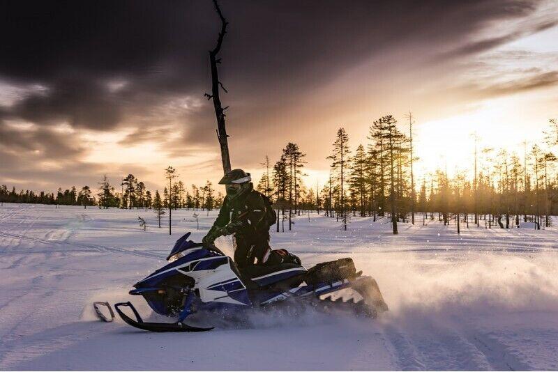 Sõit lumesaaniga Riias