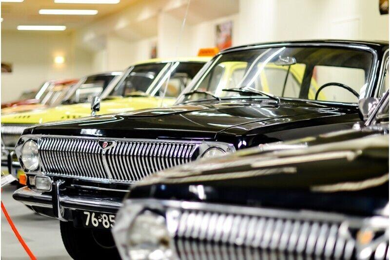 Посещение музея автомобилей в Пярну