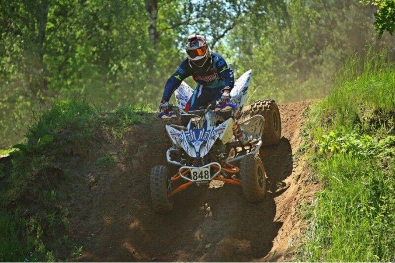 """Sport/krossi ATV sõit ühele """"Inčukalna"""" rajal Lätis"""