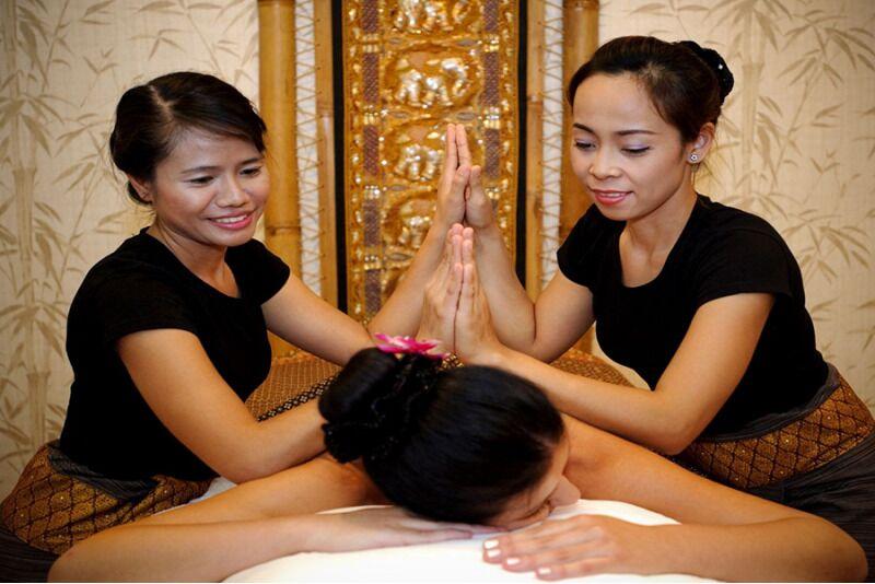 Thai Orchid SPA королевский тайчетырьский массаж в четыре руки в Таллине