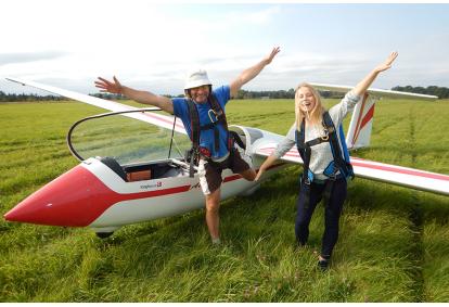 Захватывающий полет на планере + видео съемка в Рапла