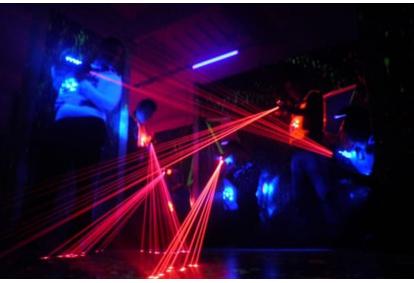 Unustamatu lasermäng FK Arena mängusaalis Tallinnas