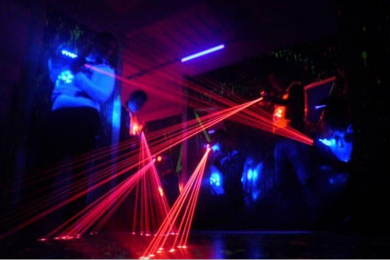 Незабываемая LaserTag игра в FK Arena в Таллине