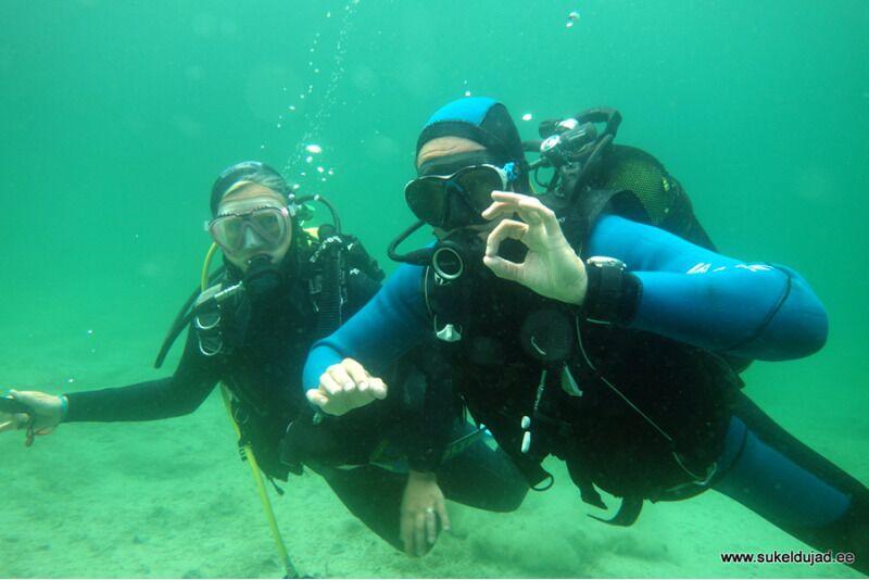Вводное обучение дайвинга в открытой воде в Харьюмаа