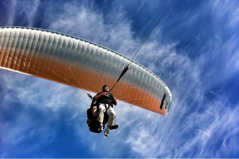 Тандемный полет на параплане с видеосъемкой в Рапла