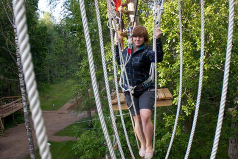 Приключение на 4 трассах + 300 м воздушный полет в Tартуском развлекательном парке