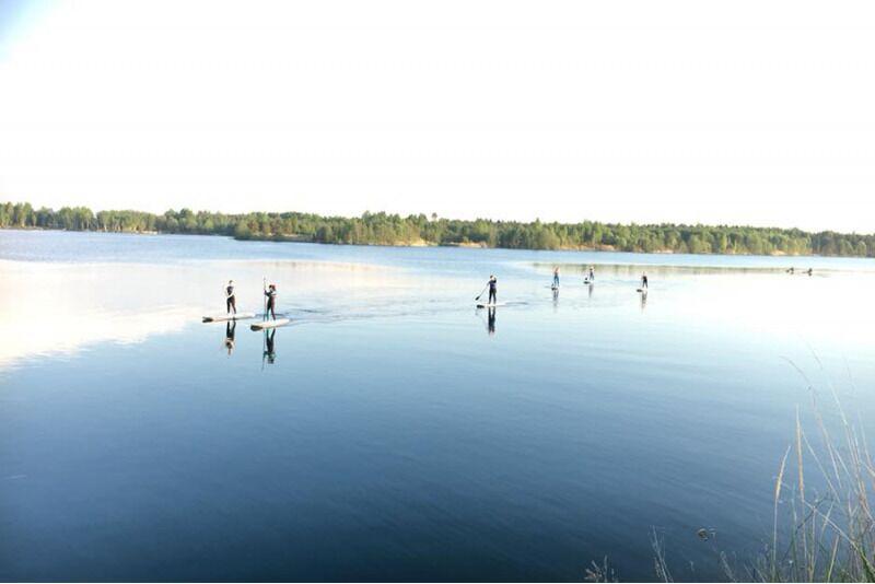 "Поход на SUP доске до Tabasalu AURA Nature Park от ""Fansurf Surf School"" в Таллинне"