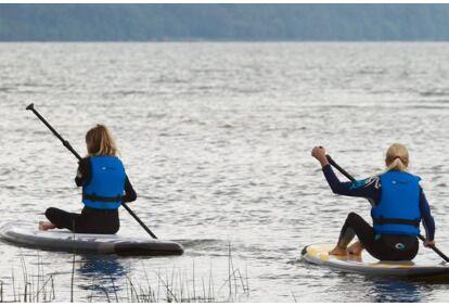 SUP отправиться в Табасалу AURA Nature Park Fansurf Surf School Tallinn
