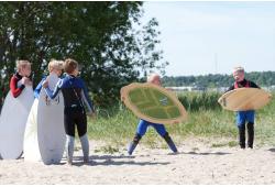 Skimboard koolitus Fansurf Surfikoolis Tallinn