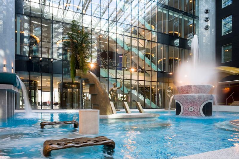 Aqua Spa veekeskuse perepilet Tallinn