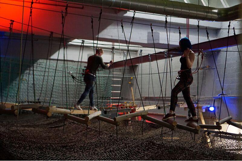 Парк приключений в Escape Room Factory в Таллине