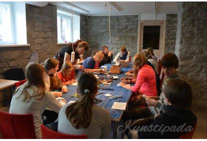 Персональная выставка в Художественной студии в Таллинне