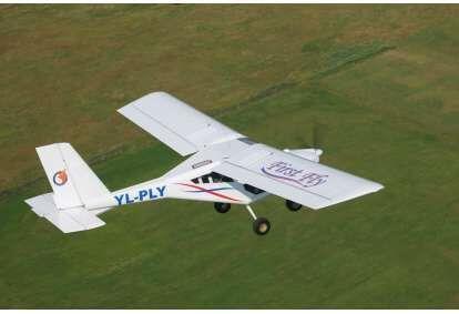 Ознакомительный полет в двухместном самолете AEROPRAKT-22