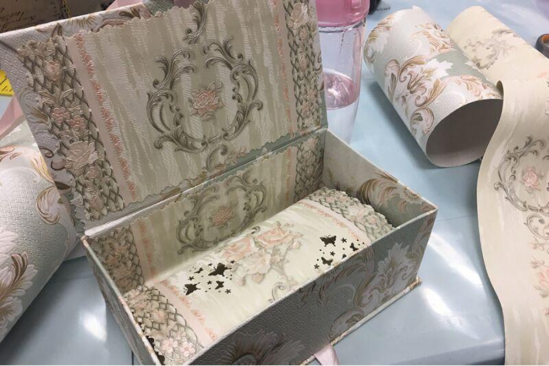 Курс по изготовлению коробки для ювелирных изделий для двоих в Таллине