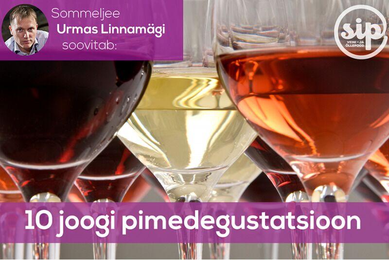 10 Joogi Pimedegustatsioon SIP veini- ja õllepoes