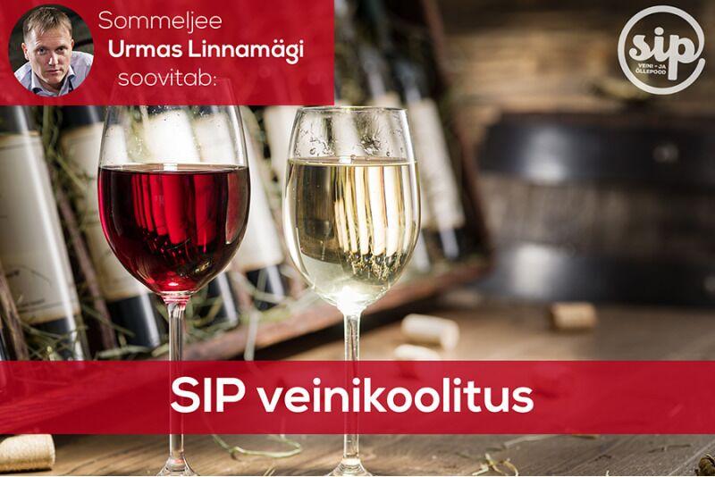 Veinikoolitus SIP veini- ja õllepoes