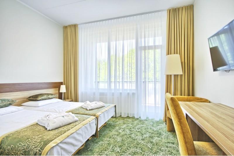 """2 öine puhkus kahele koos 12 erineva wellness hoolitsusega hotellis """"Eglė Sanatorium"""" Druskininkais"""