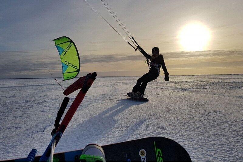 Surf Center'i talvine lohesurfi koolitus