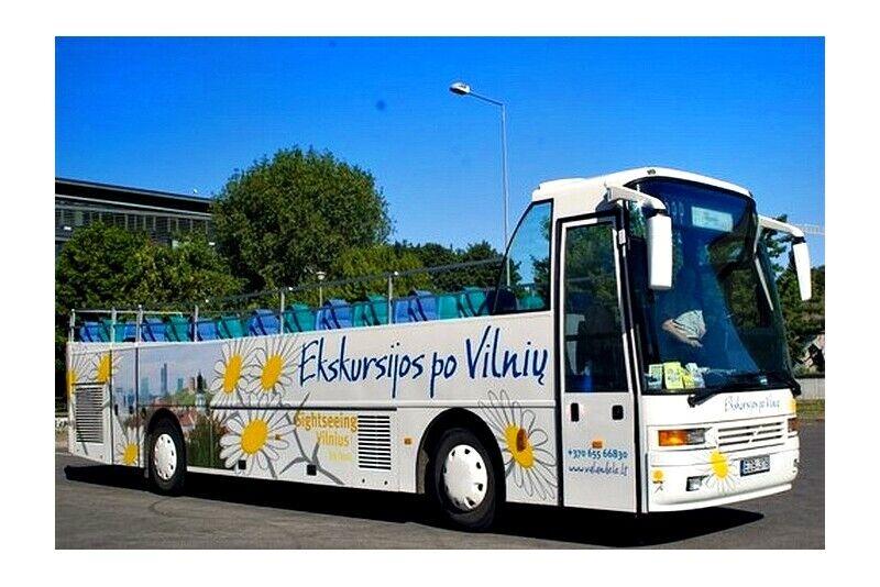 Ekskursioon lahtise bussiga Vilniuses kahele