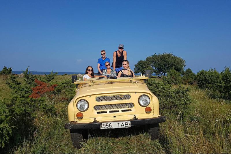 Kiire retrosafari seiklus kuuele Saaremaal