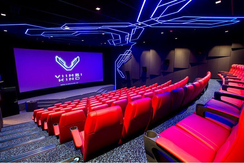 Любителям кино - билеты в кинотеатр «Viimsi Cinema» на двоих