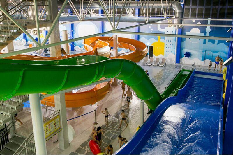 Водные развлечения для всей семьи в аквапарке «Atlantis H2O»