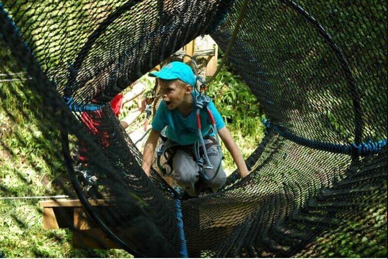 Захватывающее приключение для ребенка в Tартуском развлекательном парке