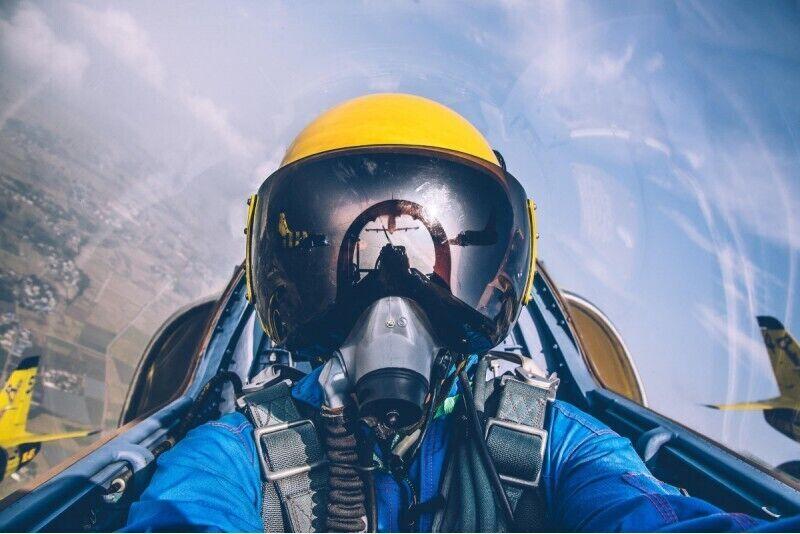 Akrobaatiline lend reaktiivlennukiga