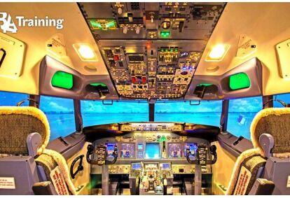 Полет на симуляторе Boeing 737 самолета в Вильнюсе