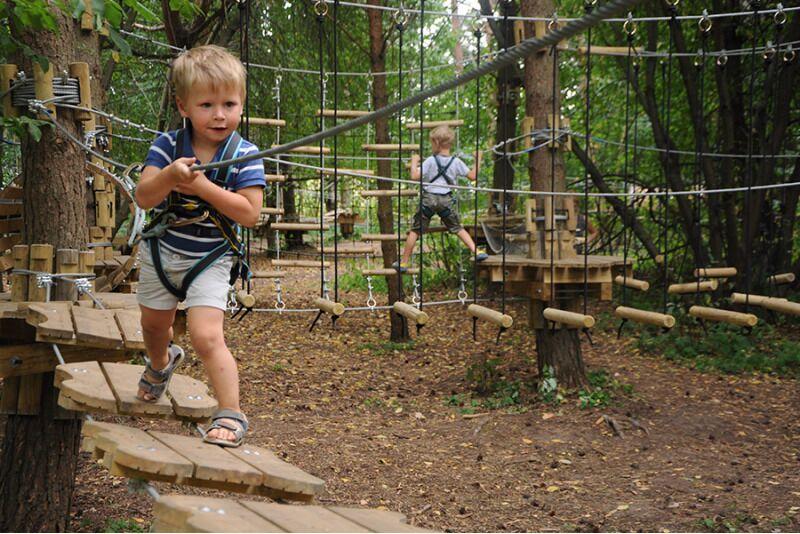 """Приключение для ребенка в парке """"Valgeranna"""""""