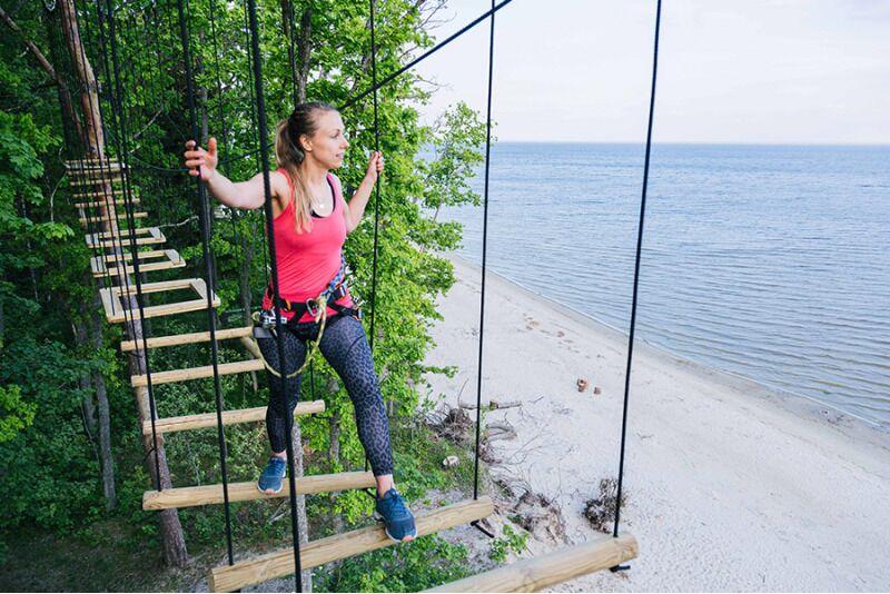 Adrenaliinirohke seiklus Valgeranna seikluspargis