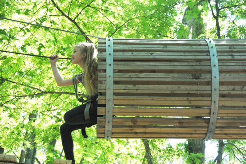 Приключение для детей младше 18 лет в парке приключений «Valgeranna»