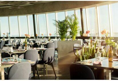 Teletorni Restorani kahekäiguline õhtusöök kahele Tallinn