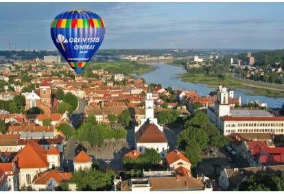 Полет на воздушном шаре над Каунасом