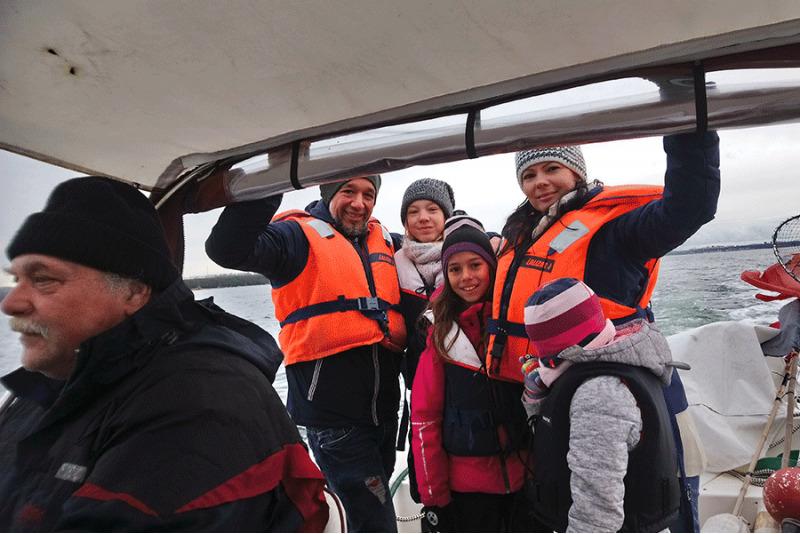 Аренда лодки с водителем в Таллинском заливе