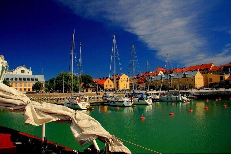 Kruiis Gotlandi saarele