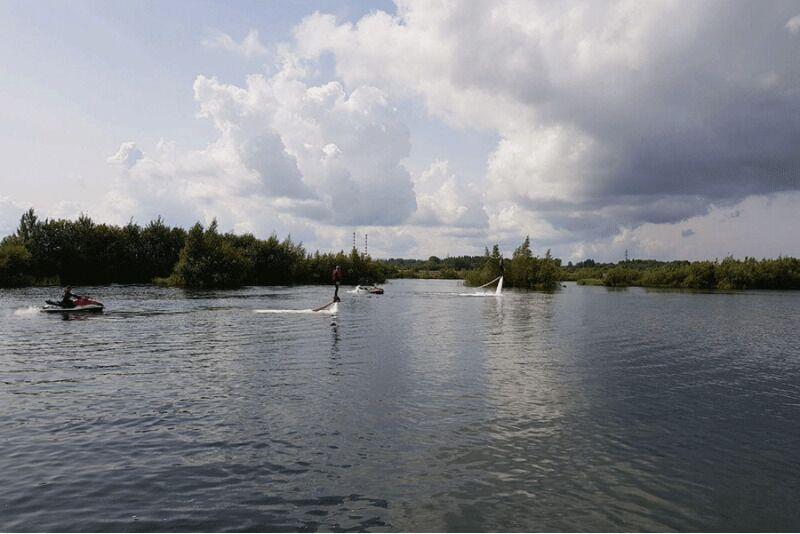 Sõit flyboardiga Tallinnas või Narvas